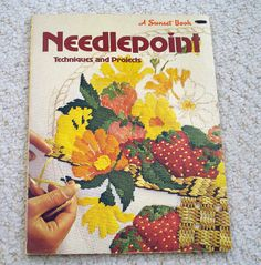 Needlepoint Techniques and Projects a Vintage Sunset  by LoveNYarn, $5.00