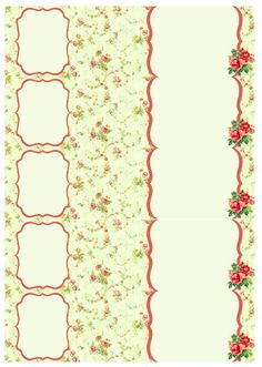 Free Envelope wrap labels in a vintage rose theme. Use http://www.worldlabel.com/Pages/wl-ol7000.htm to print.