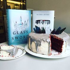 GLASS SWORD CAKE