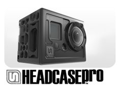Headcase-Pro - cool looking pro case for GoPro Hero cameras