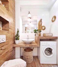 Bathroom Interior Design, Interior Design Living Room, Living Room Designs, Interior Decorating, Decorating Ideas, Decor Ideas, Design Room, Interior Ideas, Laundry Room Design