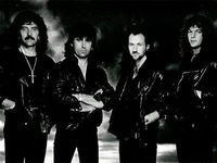 Drummer for Rainbow, Whitesnake and here, Black Sabbath in early 1990 with Tony Iommi, Tony Martin and Neil Murray