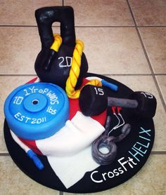 Another Crossfit cake