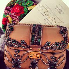 Valentino bag and an invite to a Giambattista Valli Haute Couture show - badass