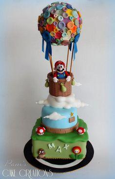 Super Mario bros cake - Cake by Pamela Iacobellis