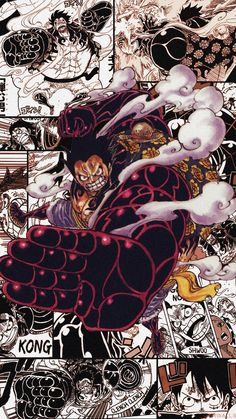 Luffy Gear 4 phone wallpaper by cdrwalls on DeviantArt One Piece Wallpaper Iphone, Jdm Wallpaper, Aesthetic Iphone Wallpaper, One Piece Pictures, One Piece Images, Cool Anime Wallpapers, Animes Wallpapers, Luffy Gear 4, Manga Anime One Piece
