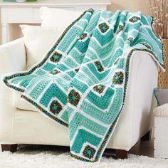 Herrschners® Tuscan Coast Crochet Afghan Kit