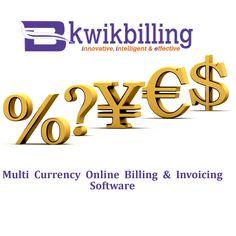 #KwikBilling - Multi Currency Online Billing & Invoicing #Software