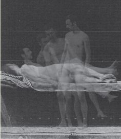 "Idris Khan, Rising Series . . . After Eadweard Muybridge ""Human and Animal Locomotion,"" 2005"