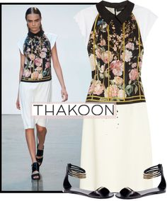 """Thakoon Spring 2013"" by kmp11 ❤ liked on Polyvore"
