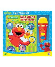 Sesame Street Sing-Along with Elmo Board Book #zulily #zulilyfinds