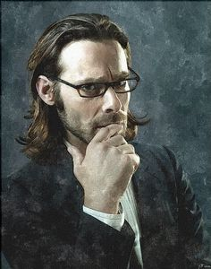 Gaius Baltar (James Callis) from BATTLESTAR GALACTICA