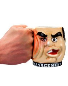 Angry with your boss? Feels like hitting, well now you can let your frustration with the Management Punchout an attractive economic gift. Coffee seems pricked for his boss in the face. - $4.15