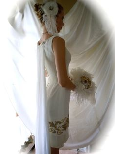 Vintage Mr Blackwell designer Wedding Gown from by LaChicFemme