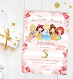 A personal favourite from my Etsy shop https://www.etsy.com/uk/listing/501636485/printable-personalised-princess-belle
