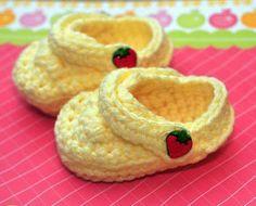 Zapatitos Para Bebe Crochet Tejido A Mano - $ 80.00 en MercadoLibre