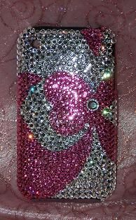 So cute bling phone cover