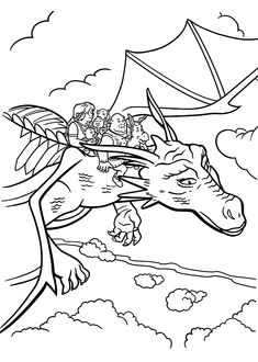 All From Shrek Coloring Pages For Kids Printable Free With