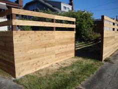 Yard Fence Ideas | Another new fence in the back yard helps to hide the ongoing ...