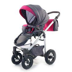 Kočárek Jumper Light plastová korbička, růžová Baby Strollers, Jumper, Children, Fabric, Pink, Baby Prams, Young Children, Tejido, Sweater