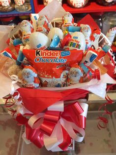 Christmas Kinder Sweet Bouquets By Sweet Memories