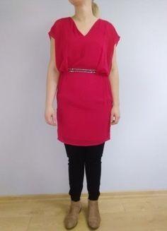 Kup mój przedmiot na #vintedpl http://www.vinted.pl/damska-odziez/krotkie-sukienki/16380826-czerwona-sukienka-z-paskiem
