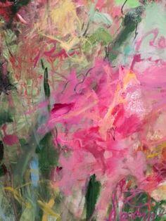 "Saatchi Art Artist Sandy Welch; Painting, ""Peony"" #art"