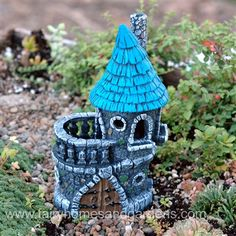 Fiddlehead Fairy Castle at http://www.fairyhomesandgardens.com