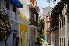 Casitas en el Viejo San Juan.