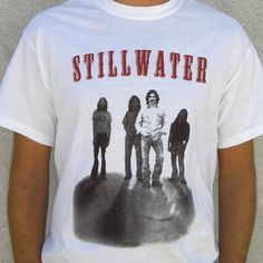 Wear the Almost Famous Stillwater t-shirt as you hum to Elton John's Tiny Dancer. The Stillwater Almost Famous shirt design features the band from their 73 tour tee. Stillwater Band, Russell Hammond, Amazon Prime Video Movies, Tour T Shirts, Tee Shirts, Famous Groupies, It's All Happening, Movie Shirts, Famous Movies