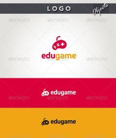 Edu Game  - Logo Design Template Vector #logotype Download it here: http://graphicriver.net/item/edu-game-logo/2377992?s_rank=107?ref=nexion