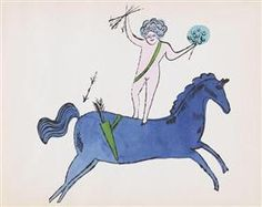 Cherub and Horse - Andy Warhol Andy Warhol : ♦️More Pins Like This At FOSTERGINGER @ Pinterest♦️