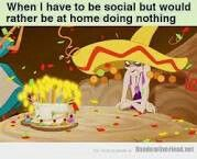 Story of my life..  emporers new groove
