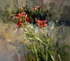 'Red day-lily' by Alexi Zaitsev