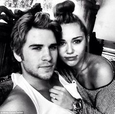 Liam & Miley :)...awe they are perfect together <3