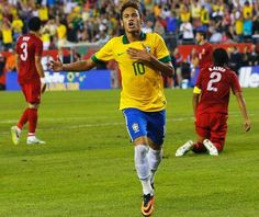 Portugal and Brazil faced in Boston for a friendly, in preparation for the World Cup 2014.