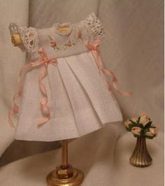 Miniature Baby Dress