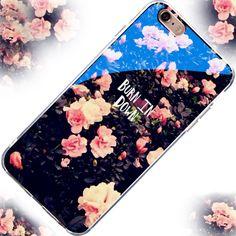 Modern luz de rayo azul claro caso de telefonía móvil para iphone 6 6 s plus 6 s 6 7 7 plus 5S sí 5 divertido cubierta transparente para el iphone 6 6 s