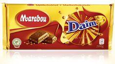 Mjölkchoklad Daim