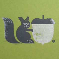 Awesome letterpress print.  Like the dot patterns they used for shading too.