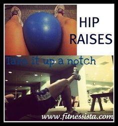 hip raises- inner thighs