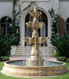 Marbel fountain