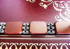 Art Deco German 830 silver and carnelian by cherrylippedroses, $275.00