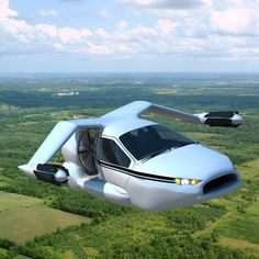 TERRAFUGIA TF-X A 200mph flying hybrid you can drive to work