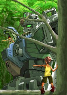 Mobile Suit Gundam 08 MS Team