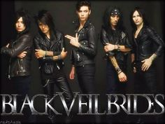 My dad pronounces Black veil Brides Black Velvet Brides and I'm there trying not to yell at his face.