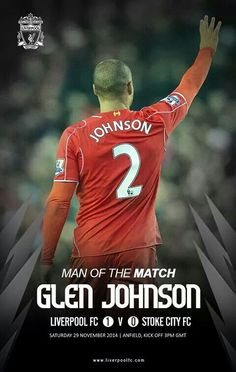Man if the match Liverpool Football Club, Liverpool Fc, Stoke City Fc, Premier League Soccer, Man Of The Match, You'll Never Walk Alone, Football Design, English Premier League, Kicks