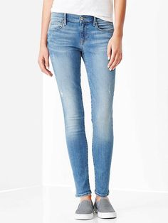 1969 stretch & recovery destructed legging jeans