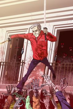 George W. Bush vs. Zombies - Sergio Quijada