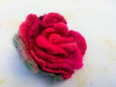 Boho Hairstyles, Sugar Flowers, Hair Pins, Raspberry, Recycling, Felt, Sewing, Rose, Brooches